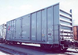 Cement Boxcars